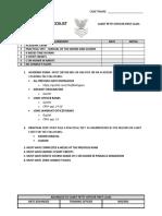 Advancement Checklist PO1