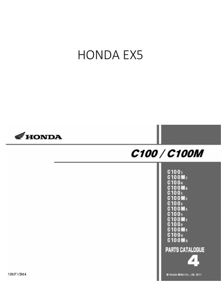 honda ex5 rh scribd com Honda EX5 Rear Arm honda ex5 dream workshop manual