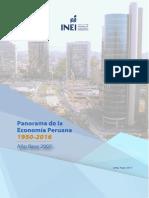 Panorama de la economía peruana 2007-2016