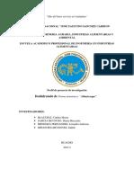 Evaluacion de los parámetros tecnologicos en la deshidratacion  del albaricoque