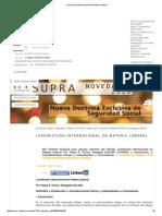Jurisdicción Internacional en Materia Laboral - Argentina