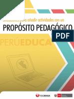 Módulo IV Situaciones Para Añadir Actividades Con Un Propósito Pedagógico