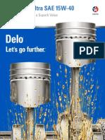 Delo Gold Ultra 15w40