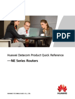 Huawei Datacom Product Quick Reference