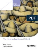 The Mexican Revolution 1910-1940 - Philip Benson and Yvonne Berliner - Hodder 2013