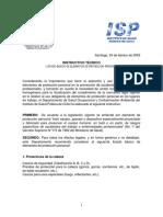 Instructivo Tecnico Listado Basico de Epp Ispch