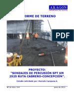 344 - Informe de Terreno Km 2525 Ruta Cabrero - Concepción (Mod 23.06)