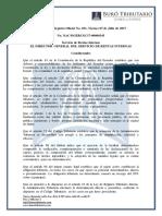 RO# 031-S - Normas Establecer Factores Ajuste en Procesos de Determinación IRta Mediante Comunicaciones Diferencias y Liquidación Pago (07 Jul. 2017)
