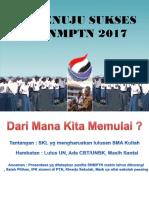 PDSS DAN PENDAFTARAN SNMPTN 2017.ppsx