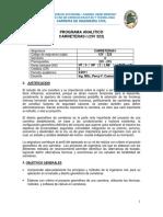 Civ323 Contenido y Bibliografia Uagrm