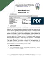 Mat101 Contenido y Bibliografia Uagrm