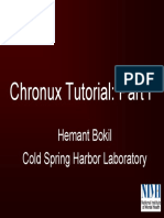 Chronux Tutorial Slides and Matlab