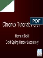 Chronux Tutorial Slides and Matlab