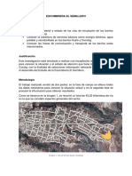 Informe Catastro Vias