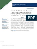 Avaliação do efeito da cintilação ionosférica e de diferentes intervalos de tempo de coleta de dados no posicionamento por ponto preciso na sua forma on-line