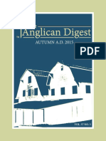 The Anglican Digest – Autumn 2015