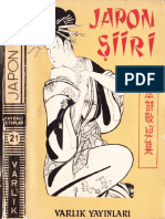 Japon Şiiri Tarihi Ve Antolojisi