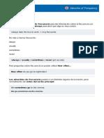 2- Adverbios de Frecuencia - Inglés A12