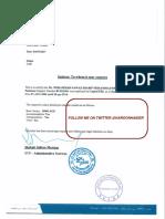 Iqama and Employment Documents of Nawaz Sharif