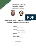 Informe Centrales de Energia