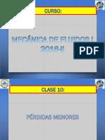 CLASE 11 PERDIDAS MENORES.pptx