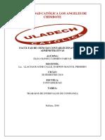 Elza Carmen_Contabilidad III_Ejercicios Intervalos de Confianza_Estadistica Aplicada I