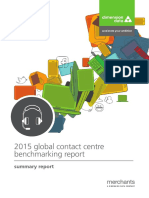 2015 Global Contact Centre Benchmarking Summary Report