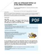 AD1_how to Write an Informal Email