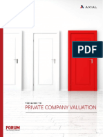 The Guide to Private Company Valuation