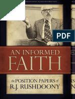 An Informed Faith