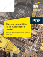 EY Staying Competitive in an Oversupplied Market Overview of Indonesias Cement Industry
