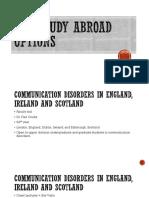 Csd Study Abroad Presentation