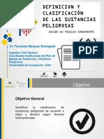 Definicion y Clasificacion de Speligrosas Colombia_dia 1
