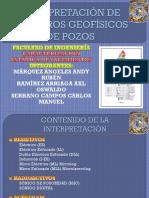 PRESENTACIÓN. 4.3 Determinación de Propiedades Petrofísicas Por Registros Geofísicos