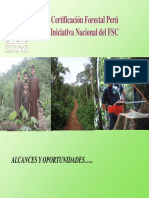 CertificaciónForestalPeruIniciativaNacionaldelFSC