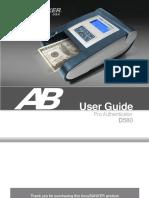 D580 Manual