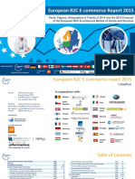 European b2c e Commerce Report 2015