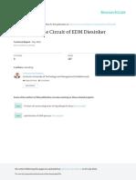Design of Pulse Circuit of EDM Diesinker