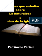 Escrituras Que Estudiar Sobre La Naturalez - Wayne Partain