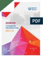 IGNOU Common Pros2017