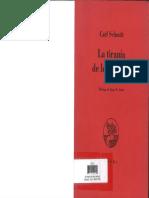 La Tiranía de los Valores - Carl Schmitt.pdf