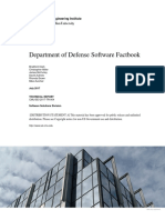 Department of Defense Software Factbook