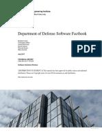 Department of Defense Software Factbook