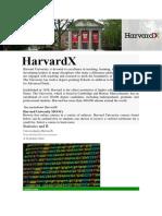 Harvard x Courses