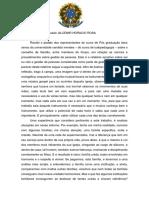 ALCEMIR HORACIO ROSA - RELATOR - CONCLUSÃO DE RELATORIO