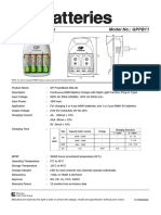 GP PowerBank Nite-lite GPPB11 Charger