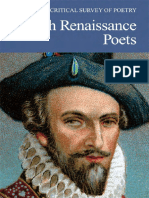 British Renaissance Poets - Critical Survey of Poetry