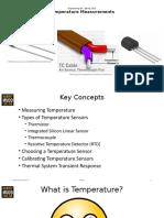 Temperature Measurements Lecture