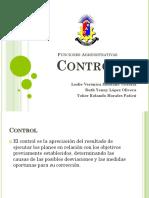 Control en Administracion