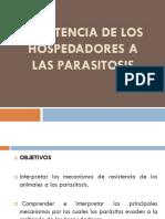 Resistencia a Las Parasitosis
